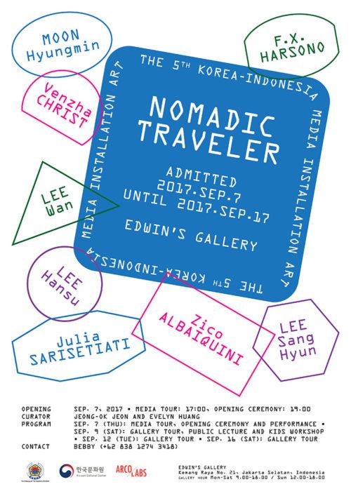 Pameran Seni Korea Nomadic Traveler2017(saungkorea.com)